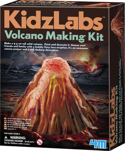 4m - Kidzlabs Volcano Making Science Kit