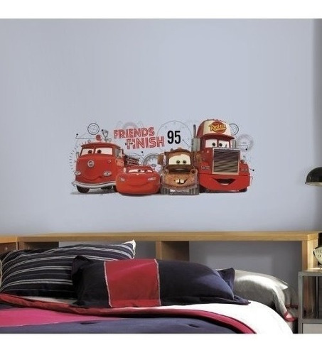 Roommates Rmk2556gm Cars 2 Amigos De The Finish Peel And Sti