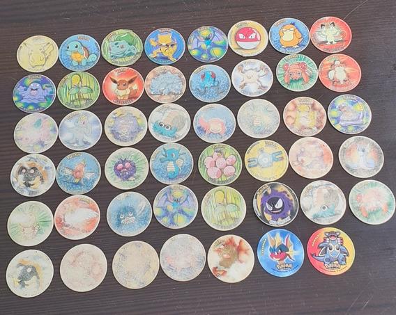 Coleccion De Tazos De Pokemon X 47 Unidades O 45 C/u