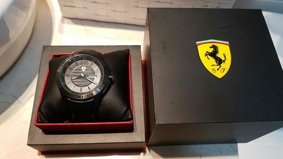 Relógio Ferrari, Pulseira Em Couro