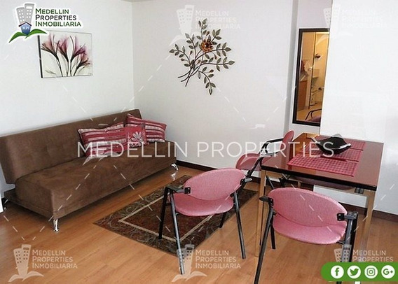 Económico Alojamiento Amoblado En Medellín Cód: 4248*