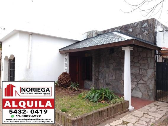 Alquiler Amplia Casa En Excelente Zona De Bella Vista