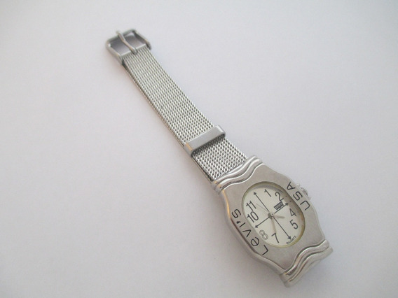 Lindo Relógio Vintage - Marca Levis - Usa - Impecável