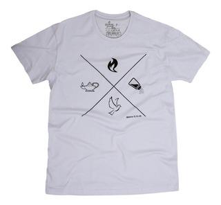Camisa Cristã Sal E Luz 25005