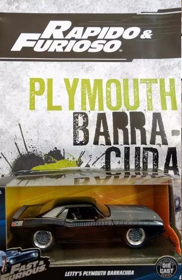 Rapido Y Furioso N 5 Plymouth Barracuda