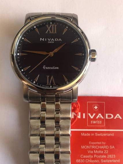 Reloj Nivada Np16001macni Carátula Azul