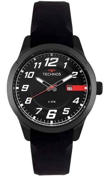 Relógio Technos Preto Performance Racer 2115mov/8p