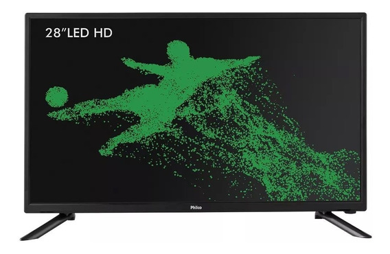 Tv Led 28´ Hd Philco Com Conver Digital Integrado - Ph28n91d