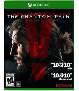 Metal Gear Solid V The Phantom Pain Xbox One Envíos Grátis