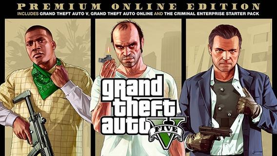 Pc/windows Grand Theft Autov5+completo+online Premium