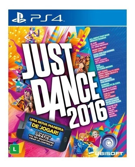 Jogo Ps4 Just Dance 2016 - Lacrado Game Ps4