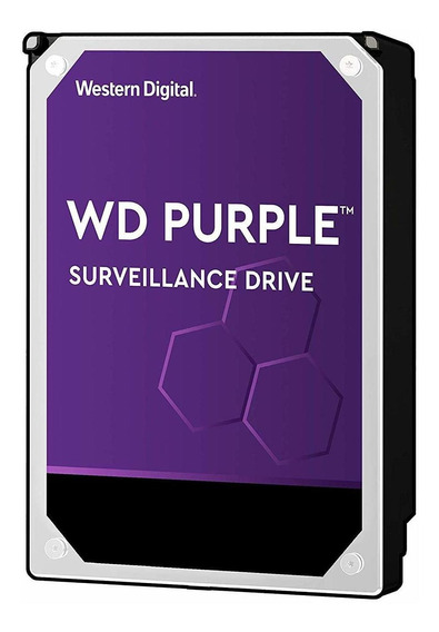 Disco rígido interno Western Digital WD Purple WD20PURX 2TB roxo
