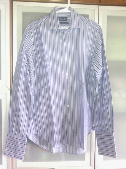 Camisa Hombre Española Massimo Dutti Talla M -12