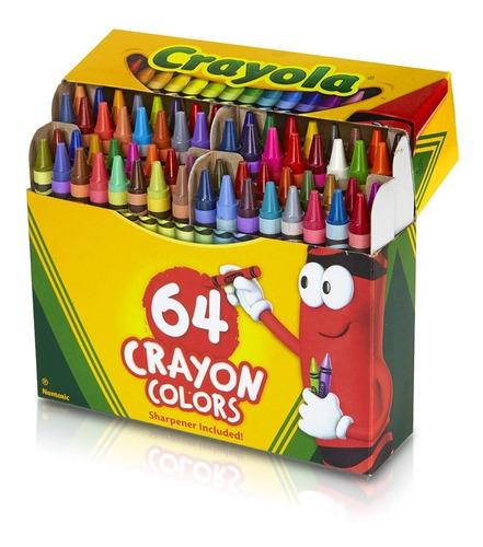 Crayola Colores De Cera Para Colorear 64 Unidades (10)