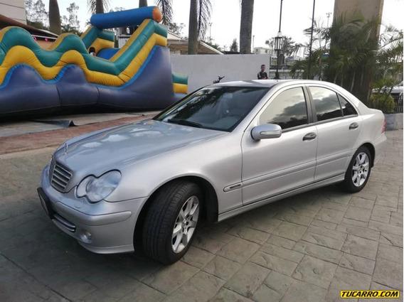 Mercedes Benz Clase C Sedan C-200k