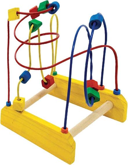 Aramado Montanha Russa - Brinquedo Pedagógico De Madeira