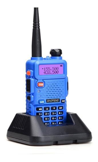 Baofeng Uv-5r Interphone Walkie Talkie Azul