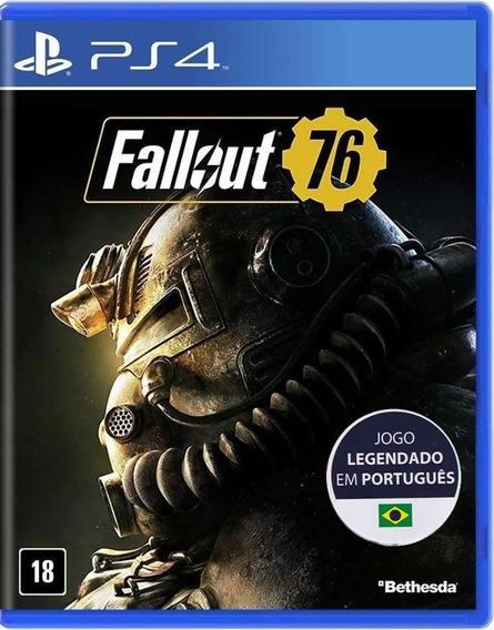 Fallout 76 - Português - [ps4] - Lacrado