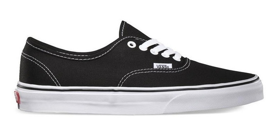 Vans Zapatilla Lifestyle Unisex Authentic Negro - Blanco Fkr