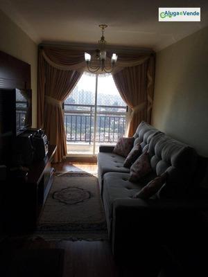 Apartamento Com 3 Dormitórios À Venda, 83 M² Por R$ 430.000 - Jardim Flor Da Montanha - Guarulhos/sp - Ap0011