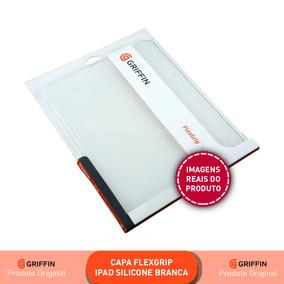 Capa Para iPad Silicone Branco