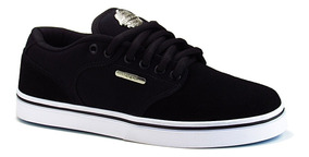 Tênis Hocks De Skate Montreal Black White Original