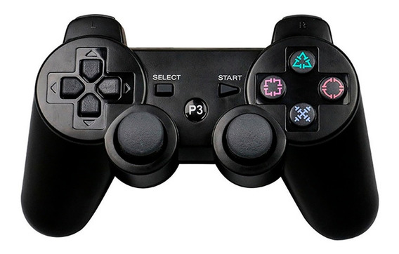 Controle Ps3 Dualshock Sem Fio Playstation 3 Wireless Wifi