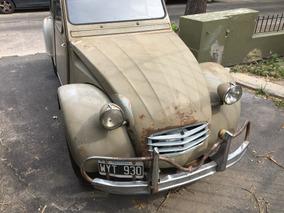 Citroën 2 Cv 1965 Centrifugo Original.segundo Dño.completo