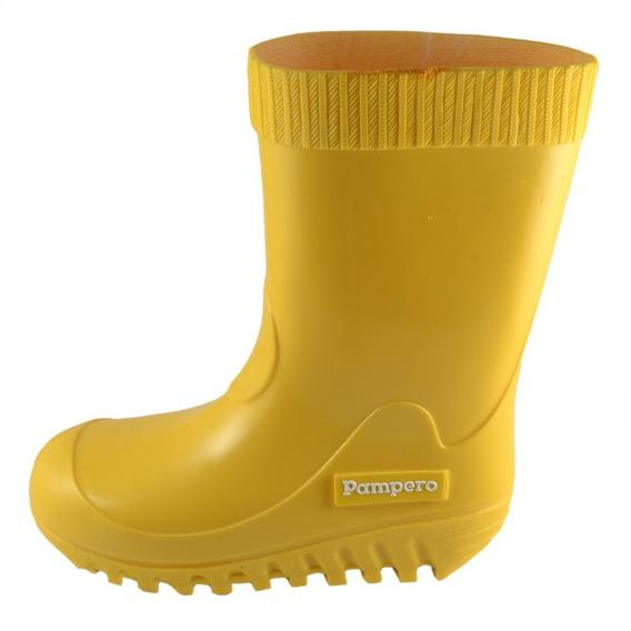 Bota Lluvia Pampero Infantil Amarillo