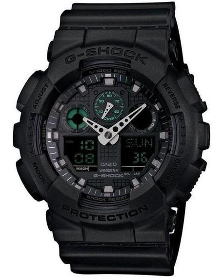 Relógio Masculino Casio G-shock Ga-100mb-1adr - Preto