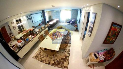 Apart. 3 Dorms Com 130m², Tupi,r$ 490 Mil, Jga1120 - Vjga1120