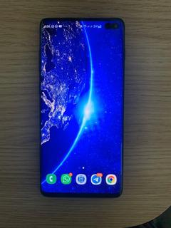 Celular Samsung Galaxy S10+ 128 Gb Perfeito Estado