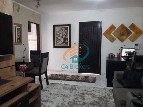 Imagem 1 de 20 de Sobrado Com 2 Dormitórios À Venda, 300 M² Por R$ 636.000 - Jardim Santa Clara - Guarulhos/sp - So0065