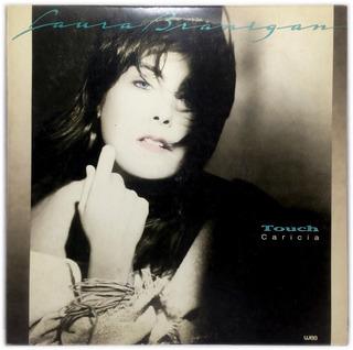 Vinilo Laura Branigan Caricia Lp Arg 1987 Con Insert Promo