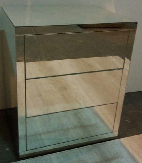Criado Mudo Espelhado Bronze Classic - C 50 X A 60 X L 40