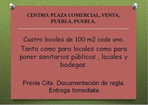 Centro, Plaza Comercial, Venta, Puebla, Puebla
