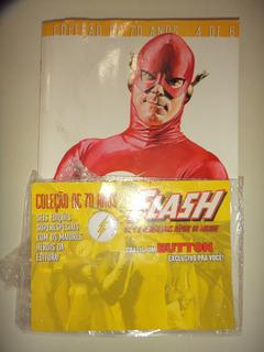 Colecao Dc 70 Anos 4 Flash Com Boton Brinde Panini 2006