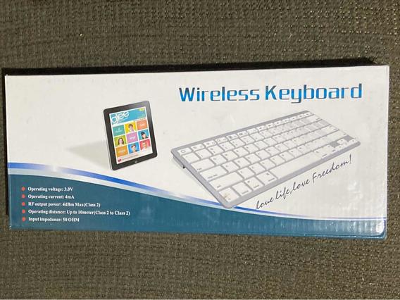 Teclado Sem Fio Bluetooth Wireless Keyboard