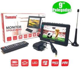 Tv Portátil Digital 9 Polegadas.