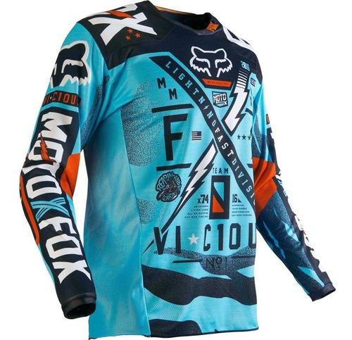 Jersey Fox Camisa Buso Mtb Ciclomontañismo, Downhill, Bmx