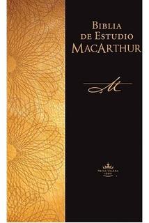 Biblia De Estudio De Macarthur (tapa Rústica) (blanda)