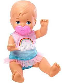 Muñeca Little Mommy Drink Y Wet Deluxe