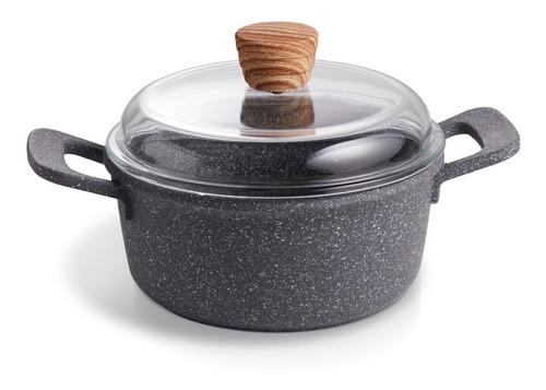 Imagen 1 de 6 de Maestro De Cocina - Cacerola Antiadherente Granito 24cm