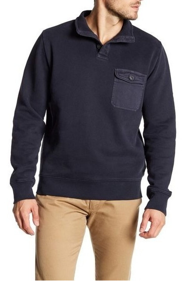 Suéter Timberland Hombre Azul Rugged Pullover Tb0a1cck001