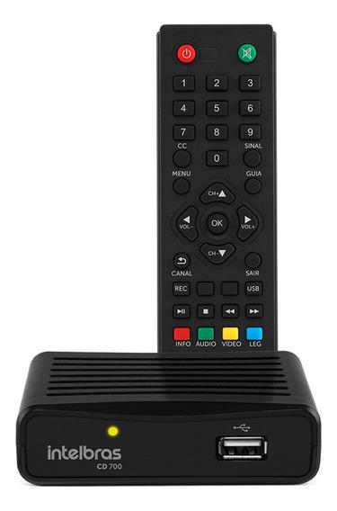 Conversor Digital Intelbras De Tv Cd 700 Com Gravador