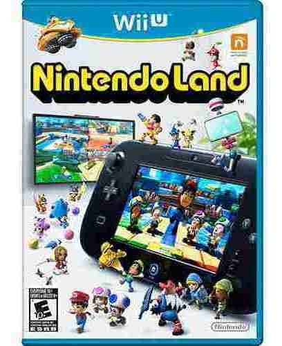 Jogo Nintendo Land - Nintendo Wii U Mídia Física Usado