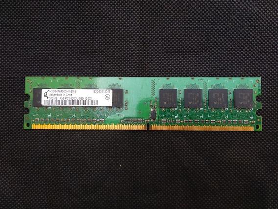 Memoria Ram Infineon 512mb Ddr2 667mhz