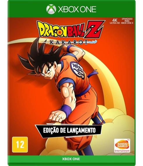 Jogo Dragon Ball Z Kakarot Xbox One Midia Fisica Original Br