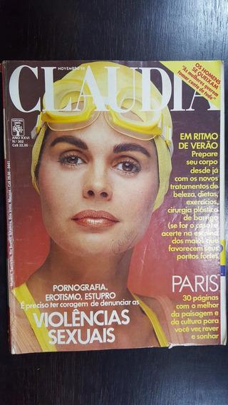 Revista Claudia N° 302 De 1986