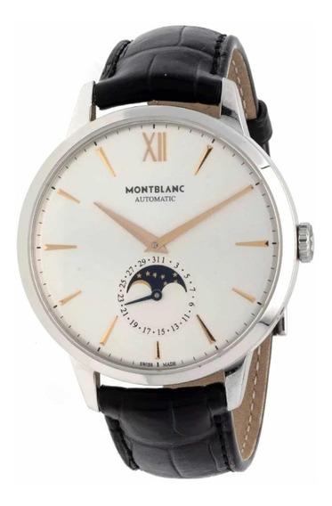Relógio Montblanc Heritage Spirit Moonphase Novo Original